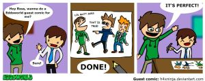 Eddsworld guest comic by H4xNinja