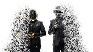 Daft Punk Splashed - Wallpaper by Dessins-Fantastiques
