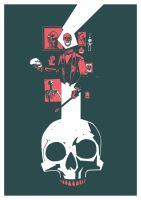 GENTLEMAN SKULL PRINT by future-parker