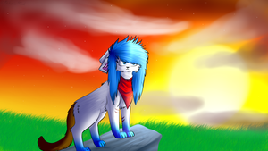Sunset. by Mikusia55xd