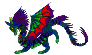 A type of dragon by NightFever100