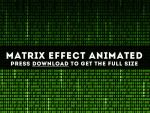Matrix Free Animated Background by PsdDude