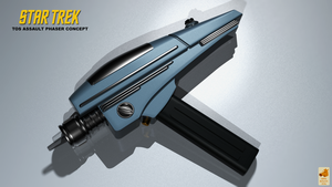 TOS Assault phaser concept by thefirstfleet
