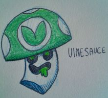 A little Vineshroom by NegitiveX