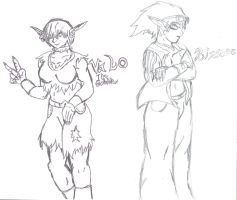 Valo the Goblin Rinnoc 1 WIP by SpaceRanger108