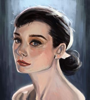 Female Portait Practice by Tmact