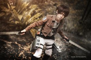 Attack on Titan - Eren Jaeger by wkwebsite