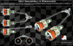 Ody Mandrell's Podracer ortho [New] by unusualsuspex
