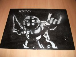BioRock Big Daddy by matstar102