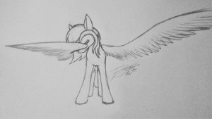Wing dab by PaintingJo