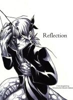 Kabuto Doujinshi: Reflection :Cover by Yakushi--Kabuto