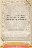 Sorcerers of the Magic Kingdom - Spell Scanner by RurouniVash
