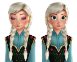 [MMD] Anna - Elsa Inspired [Download] by Simmeh
