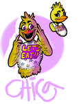 Chica the Chicken by coulrophiliacs