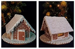 Winter Gingerbread House 2 by GingerbreadFairy