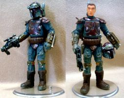 Mandalorian commander by Mace2006