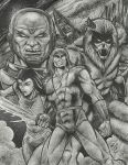 Thundarr The Barbarian by StevJVaz72