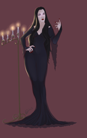 Morticia by Lavahanje