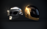 Daft Punk helmets by earn31