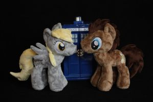 Derpy and the Doctor by Siora86