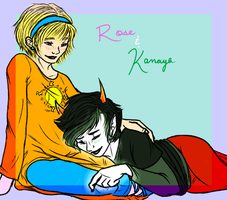 Homestuck: Love Song for a Rainbow Drinker by NancyStageRat