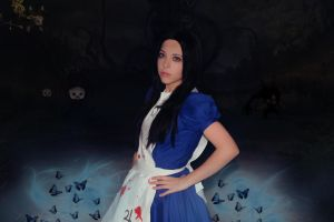 Alice Liddell - We're all mad here...! by AriB-Rabbit