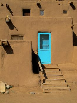 Door of Turquoise by gimmick5