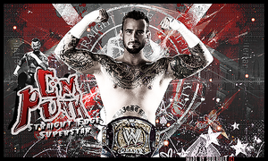 CM Punk Signature by SoulRiderGFX