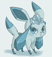 Glaceon by Pace-Eterna