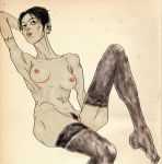 Lila - Schiele by The-Mirrorball-Man