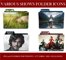 Various Shows Folder Icons by Llyr86