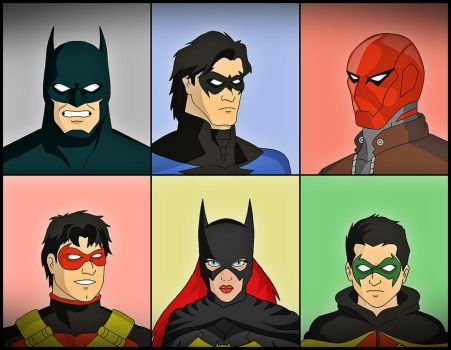 BatFamily by DraganD