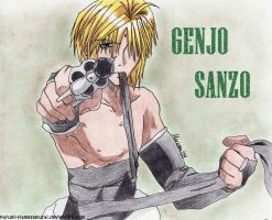 Shut up - Genjo Sanzo by KuRumi-FlameSamurai