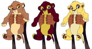 lion king adoptables CLOSED by vitani211