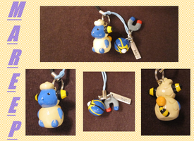 Mareep Charm by HappyPandaNyx