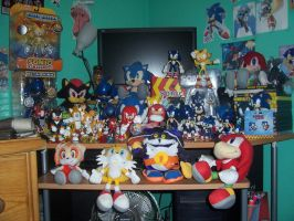 My Sonic Collection as of 2010 by piplup-fan-77