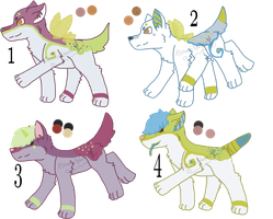 Suden x Lucy Litter - Closed by KittehzAdopts
