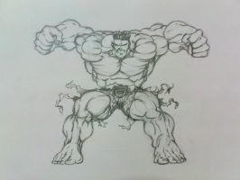 Hulk by KinKiat