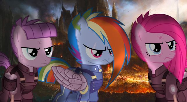 World War Pon3 (1920 x 1080) by LyraArtstrings