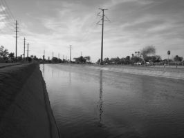 the canal by 607