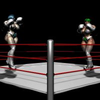All About Big Bulging Boxing Babes 3 by Realms-And-Void
