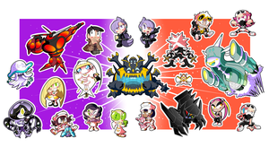 Pokemon Alola Sticker Set! (2 of 3)