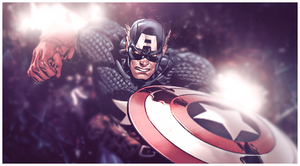 Captain America Signature 2 by murr3