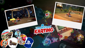 LBP Karting Beta Wallpaper by GrimLink
