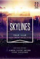 Skylines Flyer by styleWish