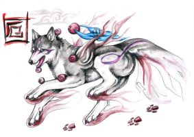 Okami of Misfortune by Kel-Del
