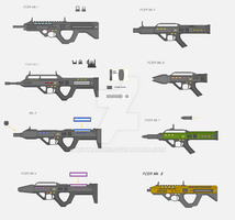 FCER Weapon System Series by Artmarcus