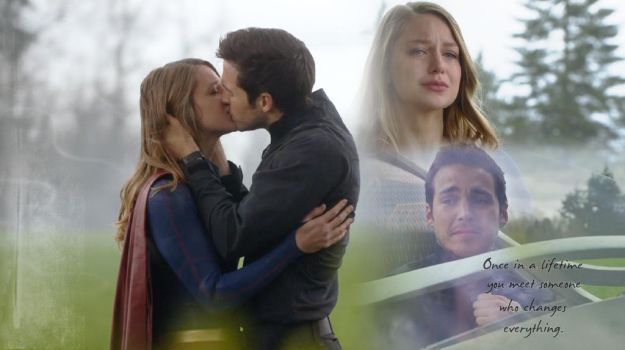 Kara and Mon-el - Supergirl by hg-81