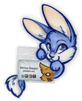 Delph Clingy Badge by gabapple