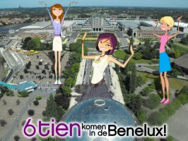 --: 6TEEN Giantesses :-- Vijf by daanton